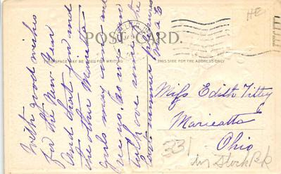 new002151 - New Years Day Postcards Old Vintage Antique Post Cards  back