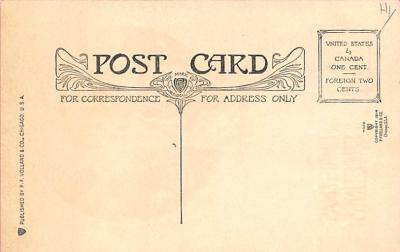 new002295 - New Years Day Postcards Old Vintage Antique Post Cards  back