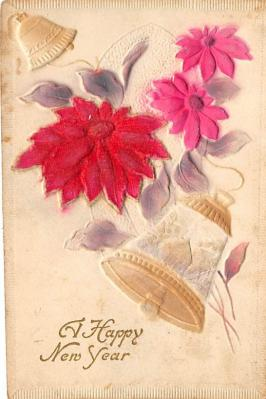 new002421 - New Years Day Postcards Old Vintage Antique Post Cards