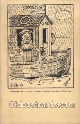 noa001009 - Noahs Ark Postcard Postcards