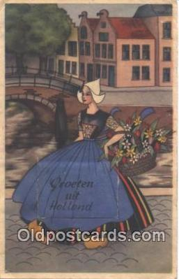 nov001027 - Groeten Uit Holland Novelty Postcard Post Cards Old Vintage Antique