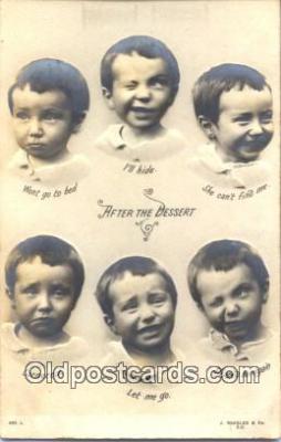 nov001030 - After The Desert Novelty Postcard Post Cards Old Vintage Antique