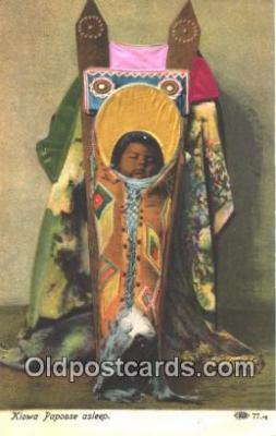 Kiowa Papoose Asleep