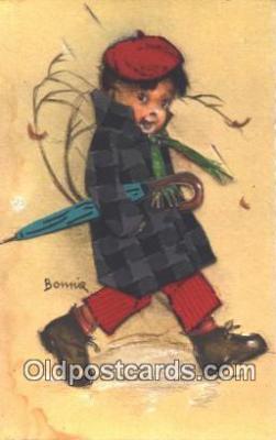nov001062 - Artist Bonnie Novelty Postcard Post Cards Old Vintage Antique