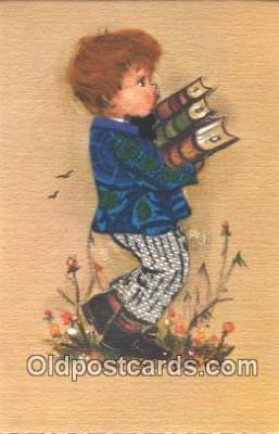 nov001064 - Artist Bonnie Novelty Postcard Post Cards Old Vintage Antique
