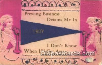 nov001088 - Troy Novelty Postcard Post Cards Old Vintage Antique