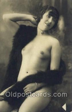 nud000064 - Non - Postcard Backing Real Photo Nude, Nudes Postcard Post Cards