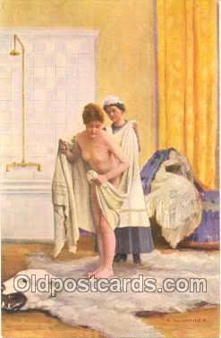 nud001006 - Astist Schneider Nude, Nudes Postcard Postcards