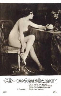 nud001047 - Nude Nudes Postcard Postcards