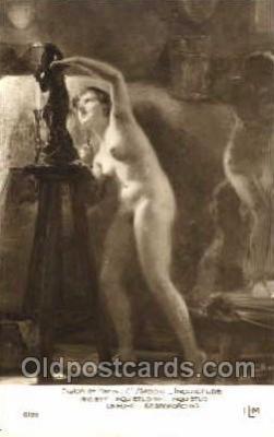 nud001062 - Artist C. Bacchi Nude Nudes Postcard Postcards