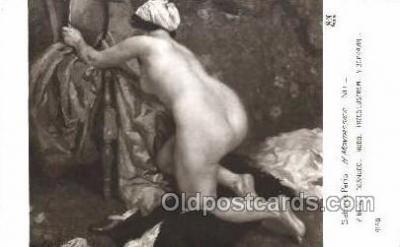 nud001071 - Artist H. Montassier Nude Nudes Postcard Postcards
