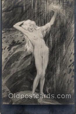 nud001080 - Nude Postcard Postcards
