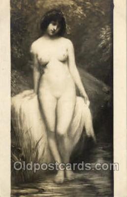 nud001082 - Artist Marie Fournier, Nude Postcard Postcards