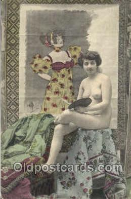 nud001162 - Non-Postcard Backing Nude Postcard Postcards