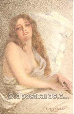 nud005004 - Artist Rousselet Nude, Nudes Postcard Postcards