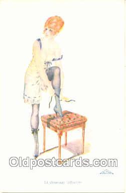 nud005008 - Artist Rene Gillis Nude, Nudes Postcard Postcards
