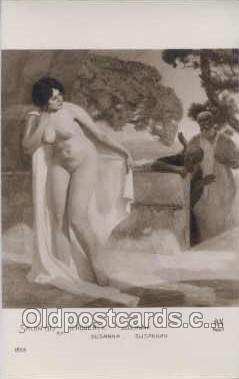 nud006007 - Artist Roberty Nude, Nudes Postcard Postcards