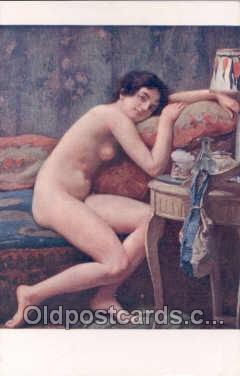 nud007003 - Artist A. Faugeron Nude, Nudes Postcard Postcards