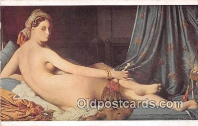 nud007155 - Musee Du Louvre  Postcard Post Card