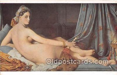 nud007159 - Musee Du Louvre  Postcard Post Card