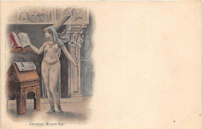 nud008160 - Nude Postcard