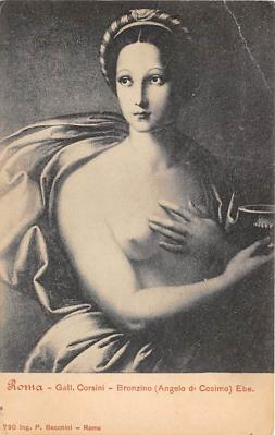 nud008179 - Bronzino Angelo d' Cosimo Ebe Nude Postcard