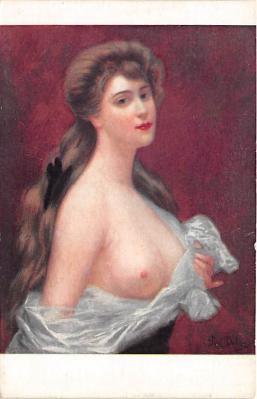 nud008189 - Nude Postcard
