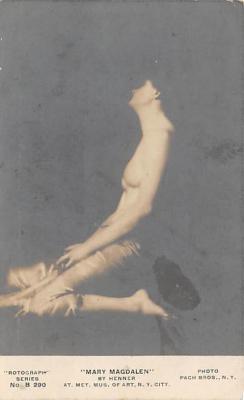nud008223 - By Henner Nude Postcard