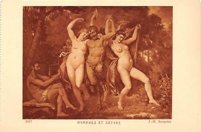 nud008371 - Sevestre Nude Postcard