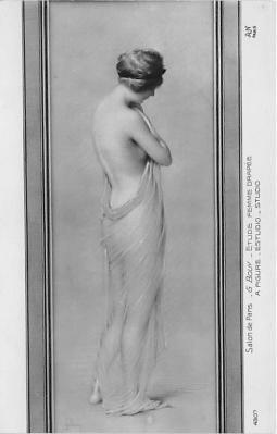 nud008402 - A Figure Nude Postcard