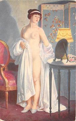 nud008419 - Nude Postcard