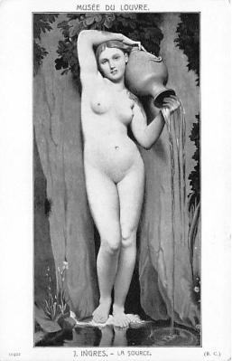 nud008457 - La Source Nude Postcard