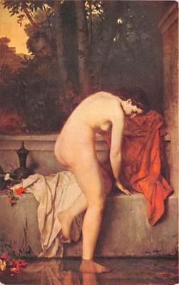 nud008465 - The Decent Suzan Nude Postcard