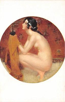 nud008493 - The Vainquished Nude Postcard