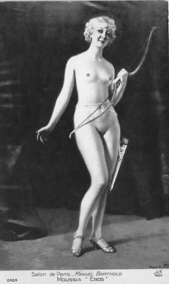 nud008519 - Manuel Barthold Moussia Eros Nude Postcard