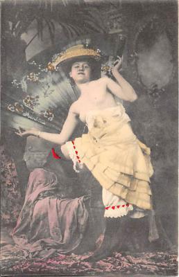 nud010025 - French Nude Postcard