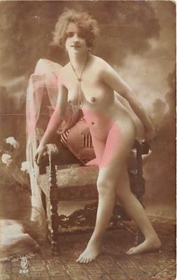nud010072 - French Nude Postcard