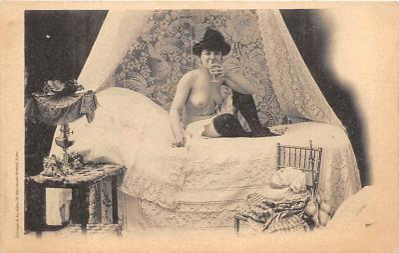 nud010111 - French Nude Postcard