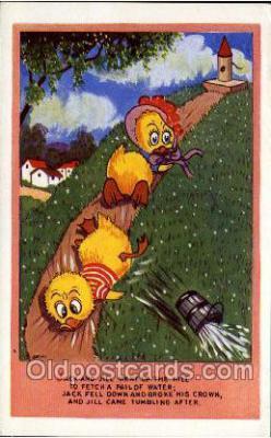 nur001003 - Jack & Jill postcard postcards