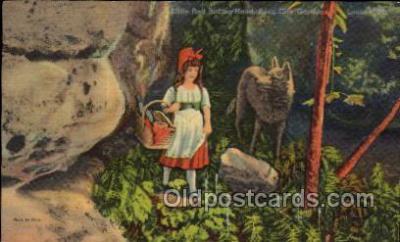 nur001046 - Little Red Ridding Hood postcard postcards