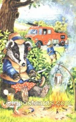 nur001057 - Children Nursery Postcard Postcards
