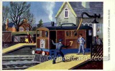 nur001145 - Toby The Tram Engine Nursery Rhyme Postcard Post Card Old Vintage Antique