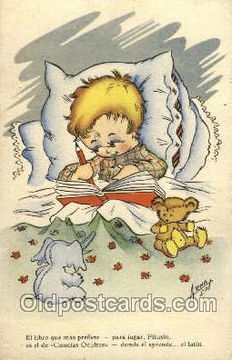 nur001171 - Artist Randolph Caldecott Nursery Rhyme Postcard Post Card Old Vintage Antique