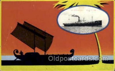 nyk001004 - S.S. Arabia Maru Nippon Yusen Kaisha Ship, NYK Shipping Postcard Postcards
