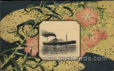 nyk001065 - S.S. Fushimi Maru Nippon Yusen Kaisha Ship, NYK Shipping Postcard Postcards