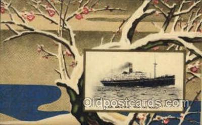 nyk001066 - S.S. Hakone Maru Nippon Yusen Kaisha Ship, NYK Shipping Postcard Postcards