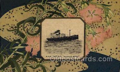 nyk001079 - S.S. Hakone Maru Nippon Yusen Kaisha Ship, NYK Shipping Postcard Postcards