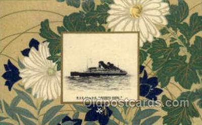 nyk001105 - S.S. Shinyo Maru Nippon Yusen Kaisha Ship, NYK Shipping Postcard Postcards