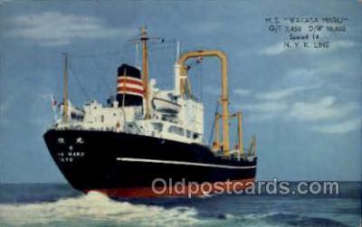 nyk001150 - S.S. Wakasa Maru Nippon Yusen Kaisha Ship, NYK Shipping Postcard Postcards