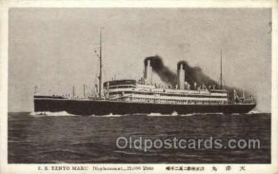 nyk001182 - S.S. Tenyo Maru Nippon Yusen Kaisha Ship, NYK Shipping Postcard Postcards